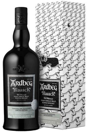 Ardbeg Blaaack 20th Anniversary Limited Edition Pinot Noir Cask