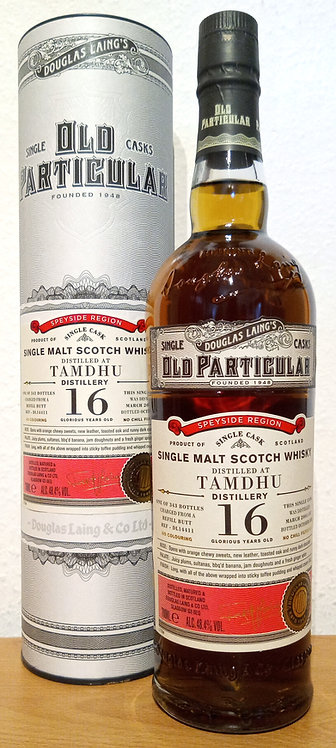 Tamdhu 2004 Douglas Laing Old Particular 16 Years old Refill Butt DL 14411