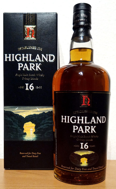 Highland Park 16 Years old Duty Free old Labe Bottled 2006