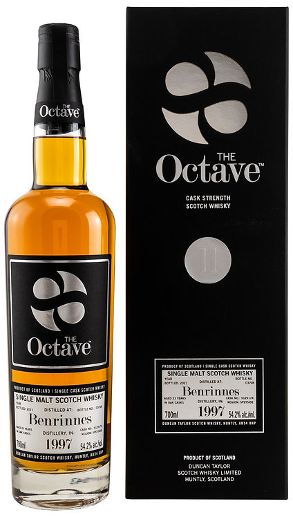 Benrinnes 1997/2021 Duncan Taylor The Octave 23 years old Cask 9129174
