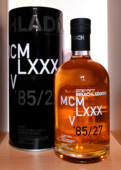 Bruichladdich MCMLXXXV 1985 4th DNA 27 Years old 1698 Bottles