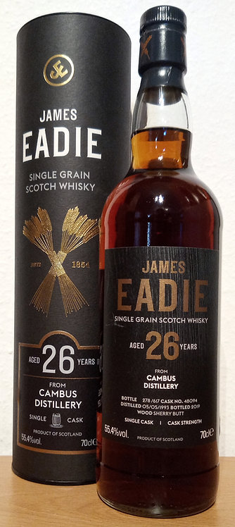 Cambus 1993 James Eadie 26 Years old Sherry Butt Cask 48094