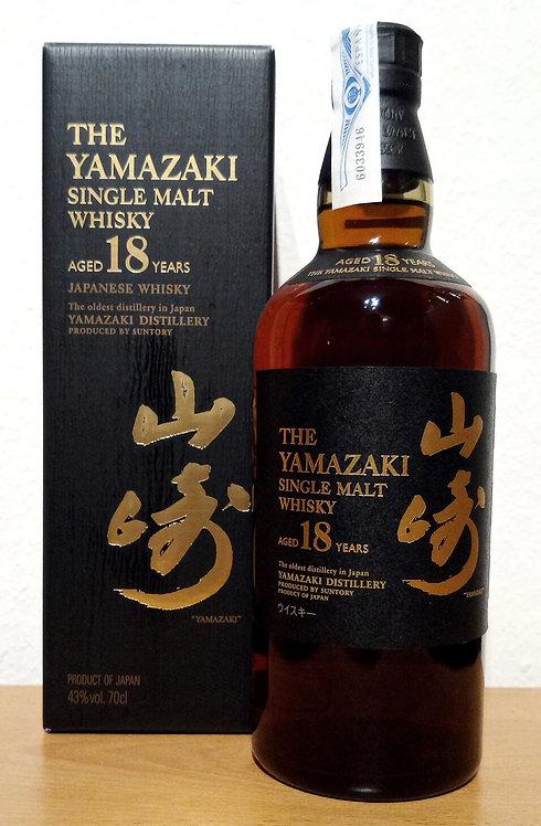 Yamazaki 18 Years old Sherry and Bourbon Mizunara Casks