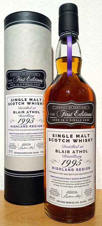 Blair Athol 1995 The First Editions 24 years old Sherry Butt Cask HL 17194