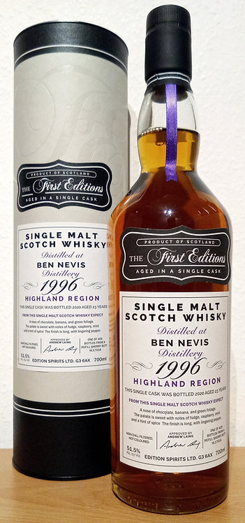 Ben Nevis 1996 The First Editions 23 years old Refill Sherry Butt HL 17618