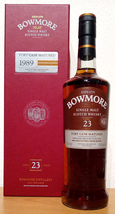 Bowmore 1989 Port Cask Matured 23 Years old Bottled 2013 Limited Release