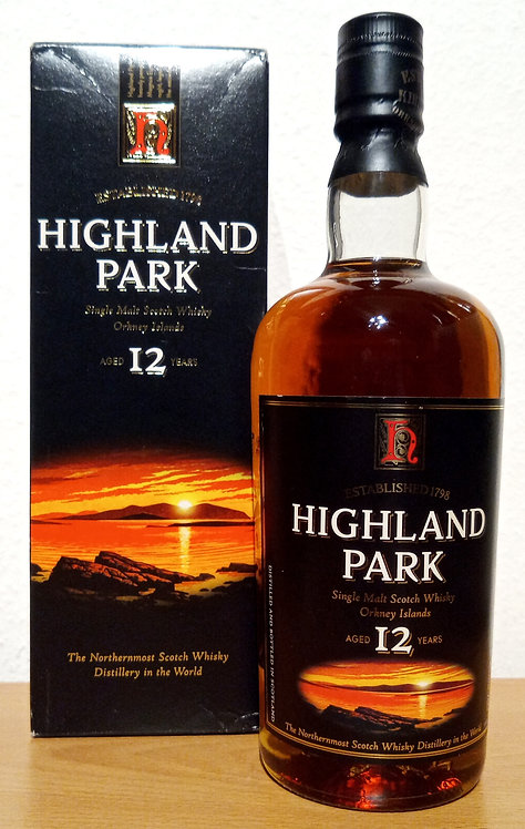 Highland Park 12 Years old Bottled 2003 old Label Distillery Bottling