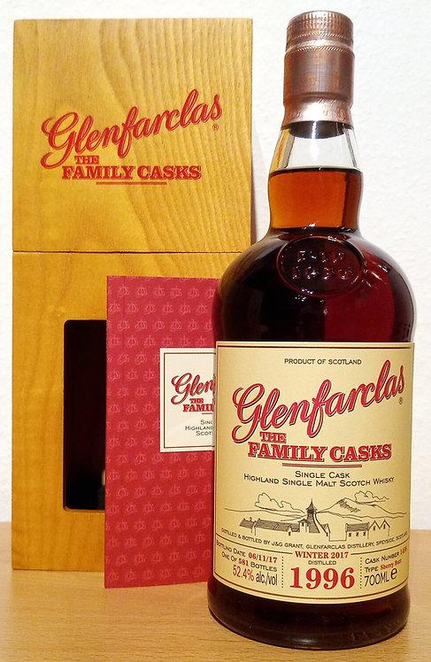 Glenfarclas 1996 The Family Casks 21 Years Sherry Butt Cask 1498