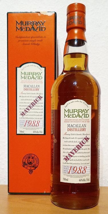 Macallan 1988 Murray McDavid 16 Years old Maverick Bourbon / Port Cask