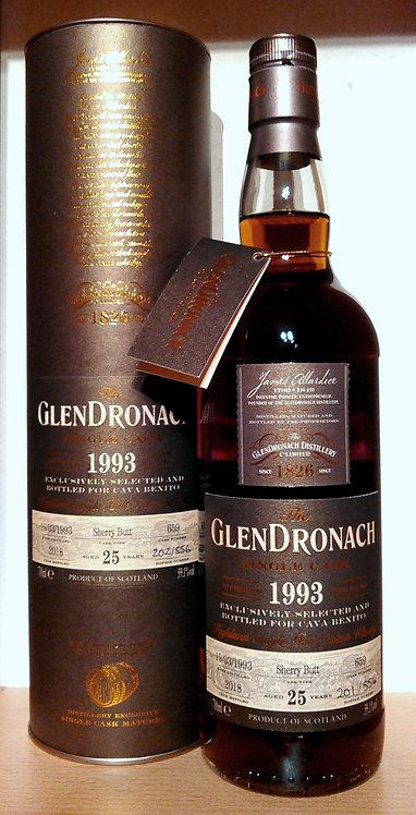 Glendronach 1993 Single Cask 659 Sherry Butt 25 Years old