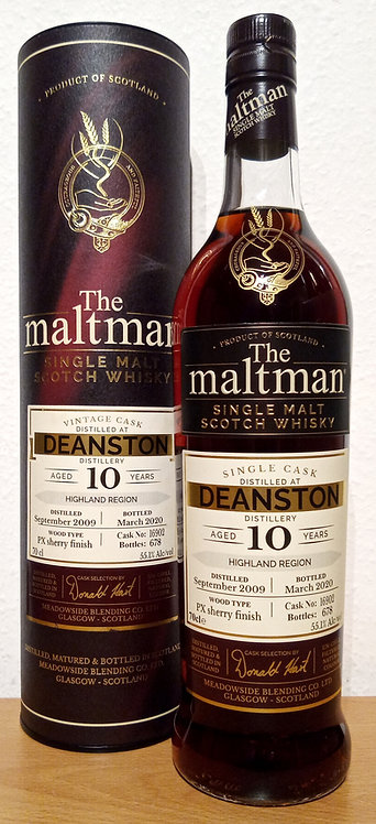 Deanston 2009 The Maltman 10 Years old PX Sherry Butt 16902