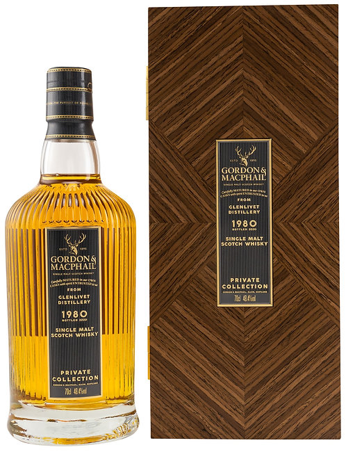 Glenlivet 1980 Gordon & MacPhail 40 Years old Private Collection