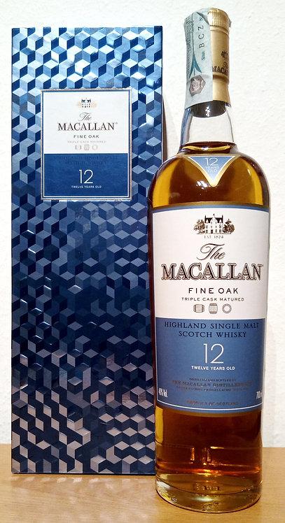 Macallan 12 Years old Fine Oak Triple Cask old Distillery Bottling