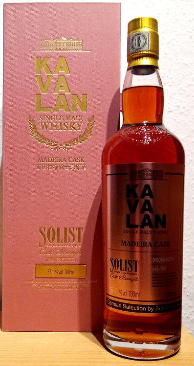 Kavalan Solist Madeira Cask Bottled 2020 Cask D150504037A