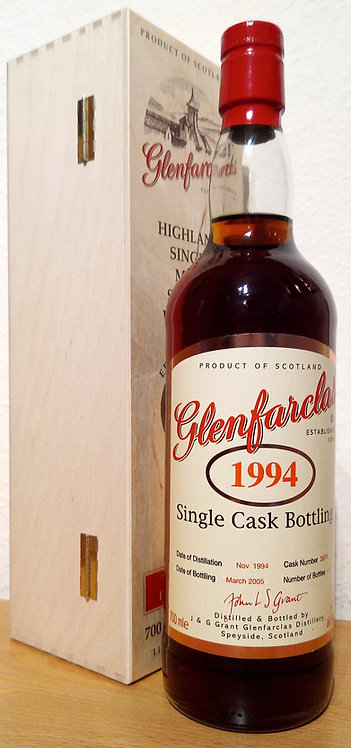 Glenfarclas 1994 Single Cask Bottling 11 Years old Sherry Hogshead