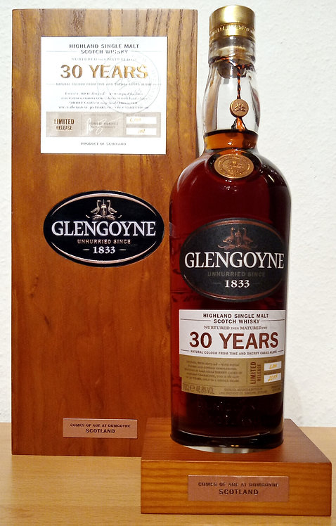 Glengoyne 30 Years old Sherry Oak Casks Limited Release 2017