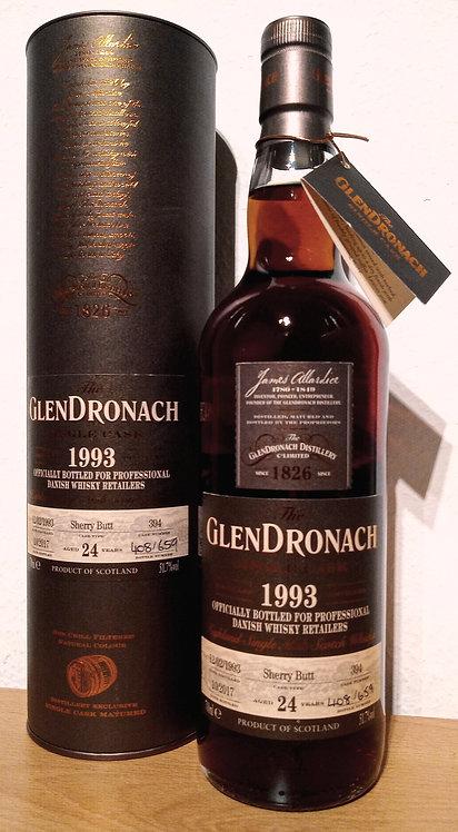 Glendronach 1993 Single Cask 394 Sherry Butt 24 Years old