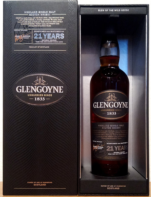 Glengoyne 21 Years old Sherry Casks Limited Release 2018