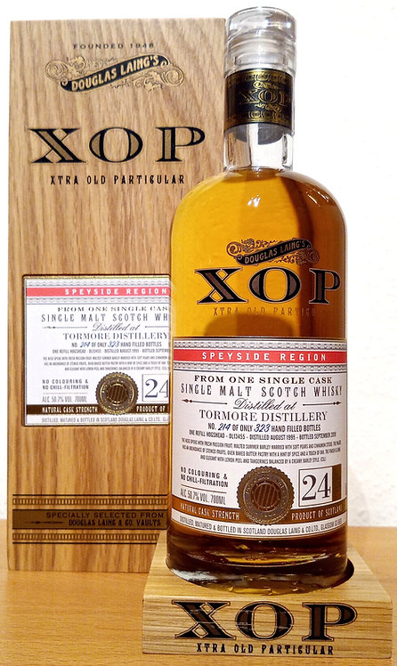 Tormore 1995 Douglas Laing XOP - Xtra Old Refill Hogshead 24 years old