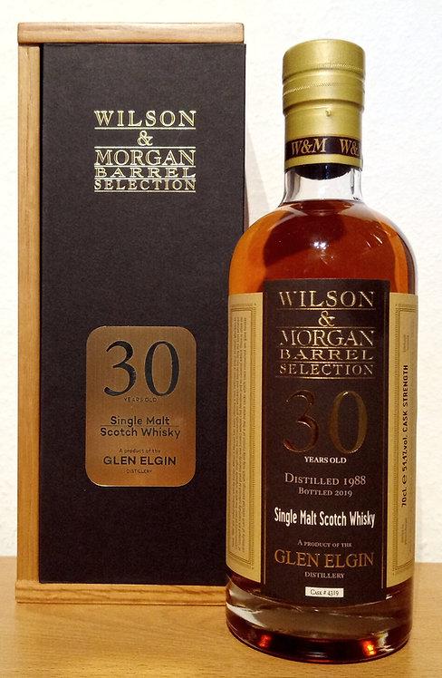 Glen Elgin 1988 Wilson & Morgan second fill Sherry Cask 30 Years old