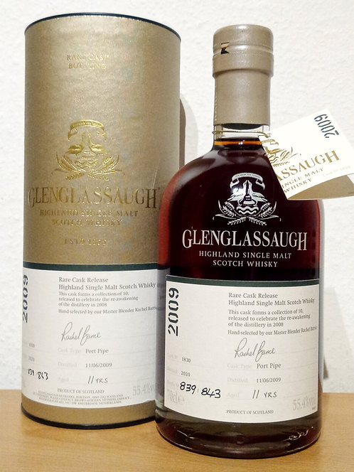 Glenglassaugh 2009 Bottled 2020 Rare Cask Release 11 Years old