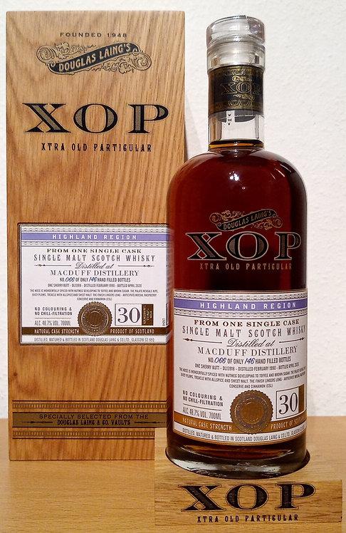 Macduff 1990 Douglas Laing XOP - Xtra Old Sherry Butt 30 years old