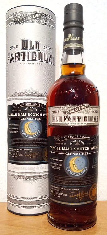 Glenrothes 2005 Douglas Laing Old Particular 15 Years old Sherry Butt DL 14560
