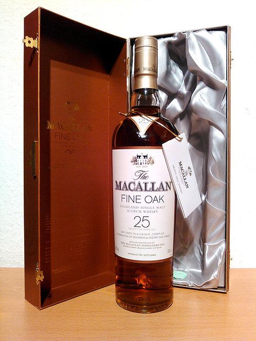 Macallan 25 Years Fine Oak Bourbon & Sherry Cask Single Malt