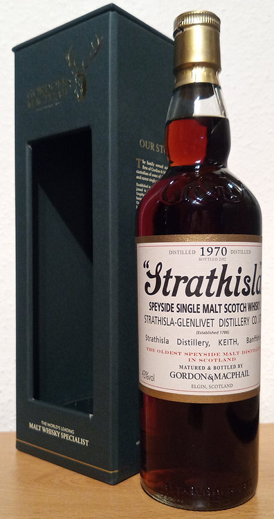 Strathisla 1970 Bottled 2012 by Gordon & MacPhail 42 Years old