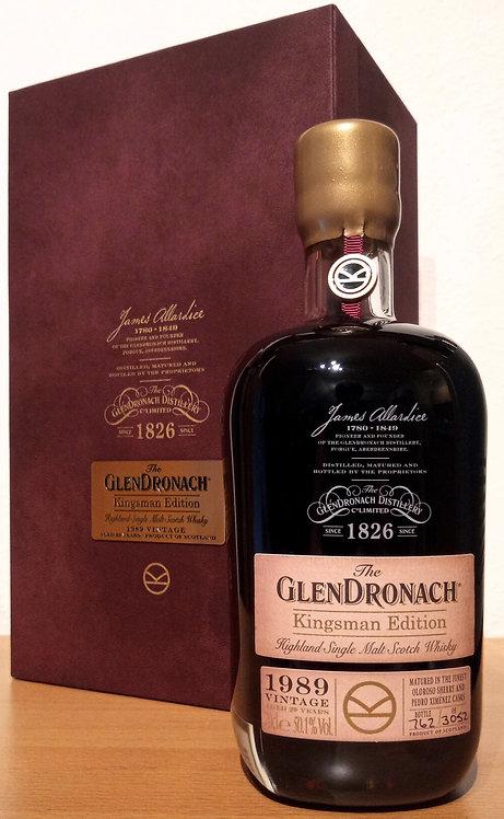 Glendronach 1989 Kingsman Edition 29 Years old Oloroso & Pedro Ximénez Casks