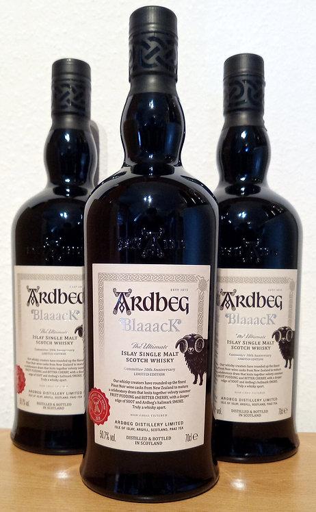 Ardbeg Blaaack 2019 The Ardbeg Committee Islay Single Malt Whisky