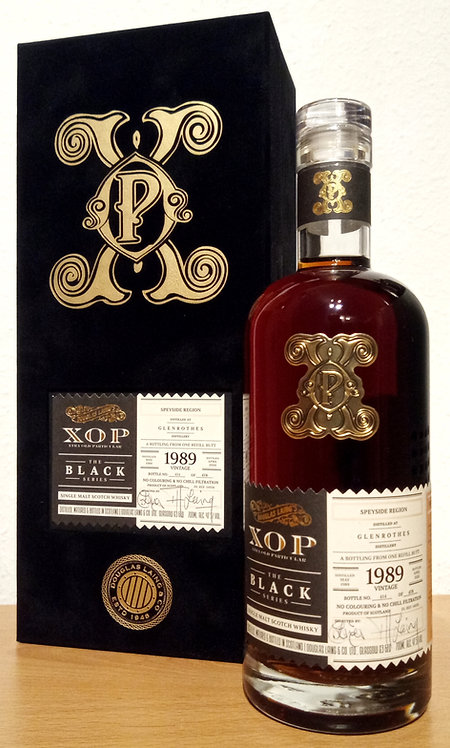 Glenrothes 1989 Douglas Laing XOP - Xtra Old Sherry Butt 30 years old