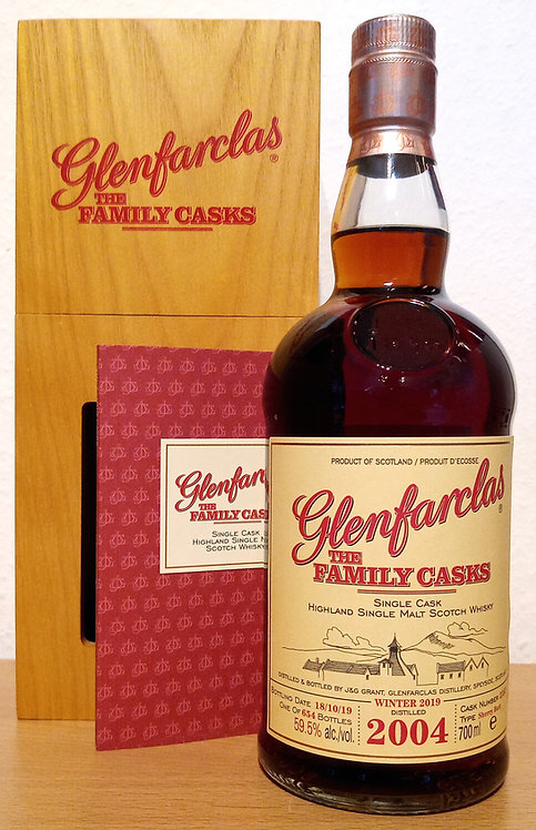 Glenfarclas 2004 The Family Casks 15 Years old Sherry Butt 2383