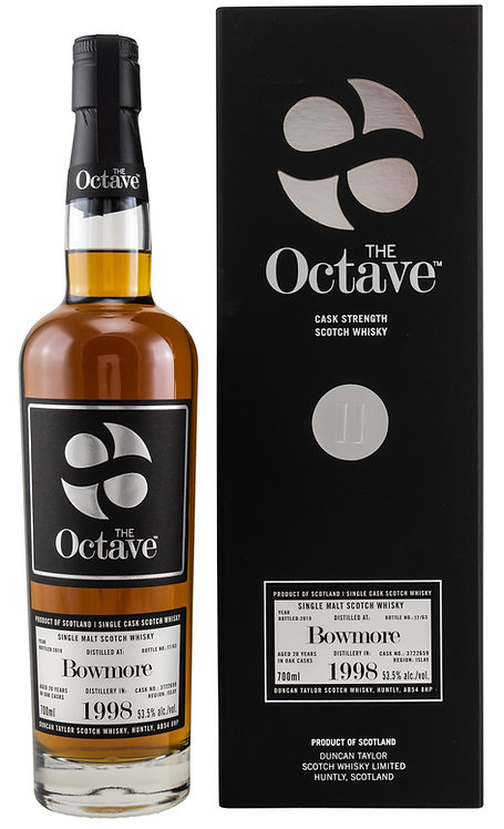 Bowmore 1998 / 2019 Duncan Taylor The Octave 20 years old Cask 3722659