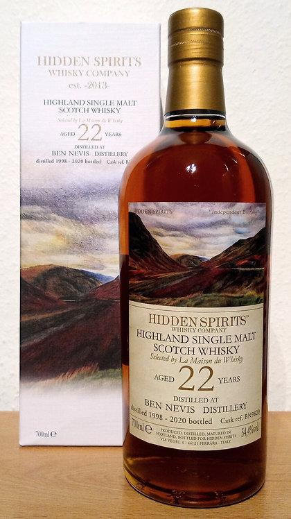 Ben Nevis 1998 Hidden Spirits Sherry Butt 22 years old Cask BN9820