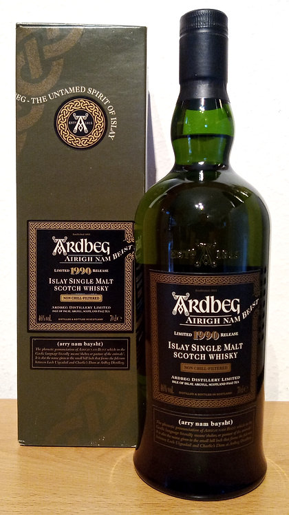Ardbeg Airigh Nam Beist 1990 - 2008 Islay Single Malt Whisky
