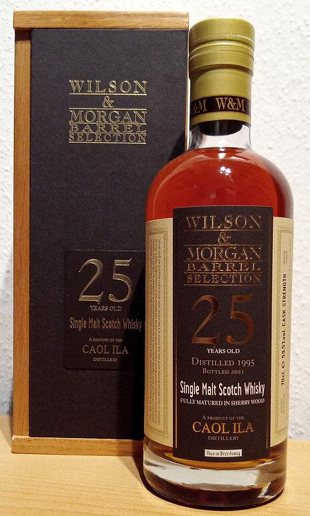 Caol Ila 1995 Wilson & Morgan 25 Years Second Fill Sherry Butt 10024