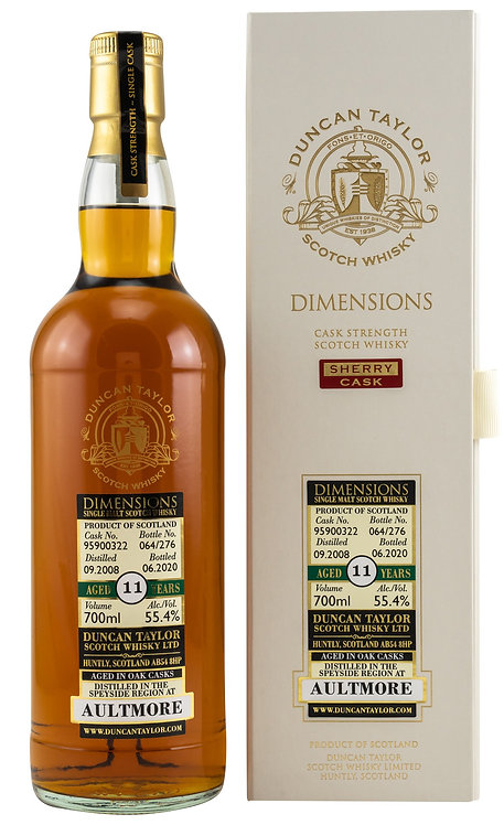Aultmore 2008 Duncan Taylor 11 Years old Sherry Oak Cask 95900322
