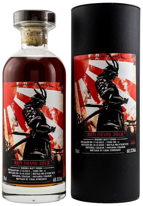 Ben Nevis 2013/2020 Signatory Samurai Sherry Butt Finish Cask 11