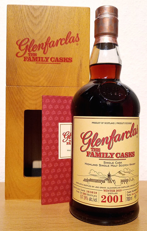 Glenfarclas 2001 The Family Casks 18 Years Sherry Hogshead Cask 2170
