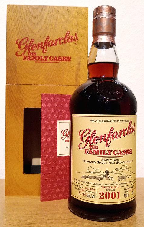 Glenfarclas 2001 The Family Casks 18 Years Sherry Hogshead 2170