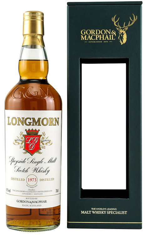 Longmorn 1973 Bottled 2015 by Gordon & MacPhail 42 Years Sherry Casks