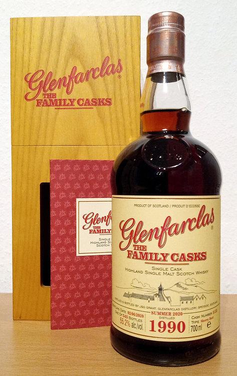 Glenfarclas 1990 The Family Casks 30 Years Sherry Butt 5122