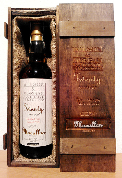 Macallan 1989 Wilson & Morgan Oloroso Sherry Finish 20 Years old