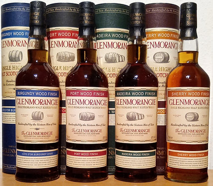 Glenmorangie Complete Wood Finish Bottled 2004 New Striped Label