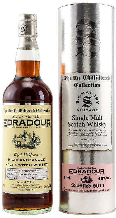 Edradour 2011 Signatory Vintage Sherry Butt 10 Years old Cask 24