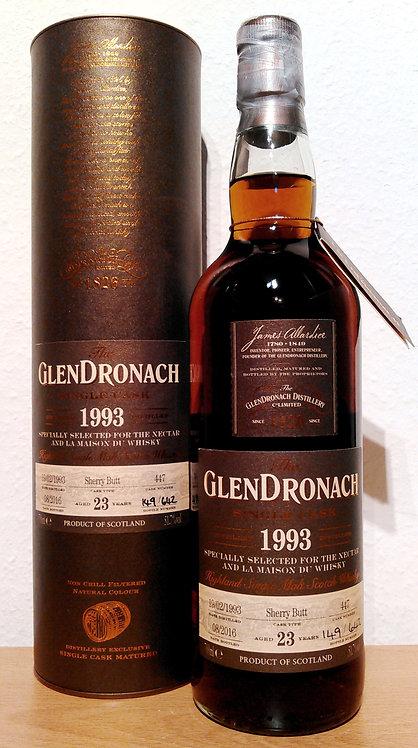 Glendronach 1993 Single Cask 447 Sherry Butt 23 Years old