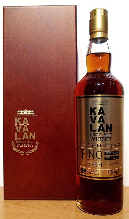 Kavalan Solist Fino Sherry Cask Bottled 2016 Cask FI100707013B