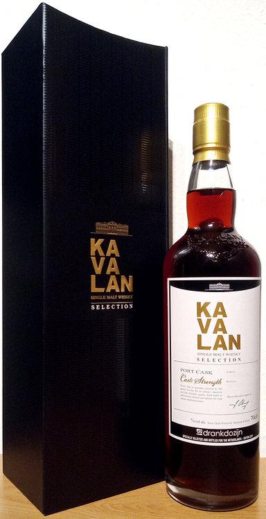 Kavalan Selection Port Cask 1st Fill Port Pipe Bottled for Drankdozijn