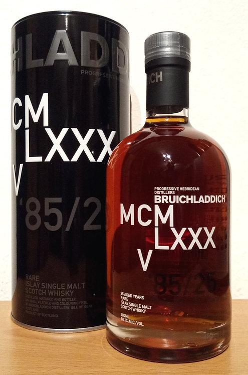 Bruichladdich MCMLXXXV 1985 3th DNA 25 Years old 1665 Bottles